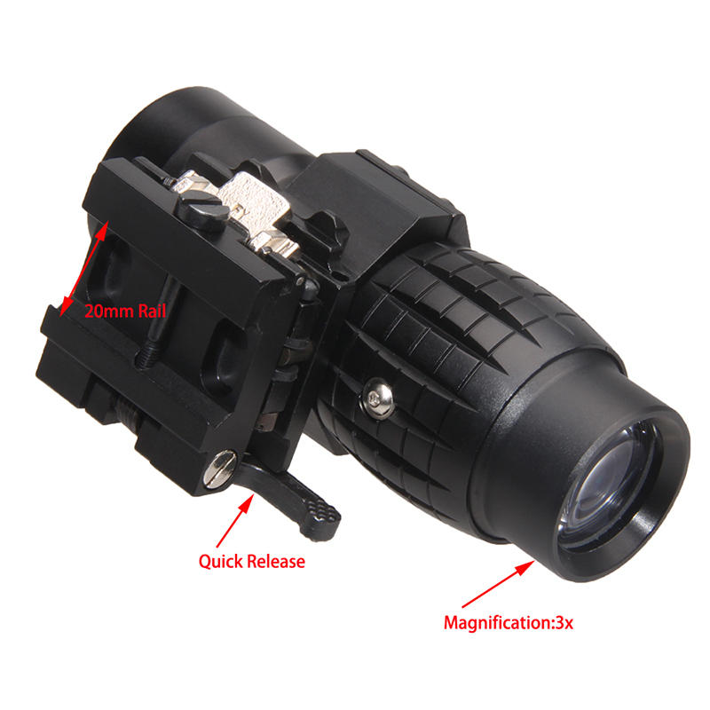 3x Magnifier With Quick Release
